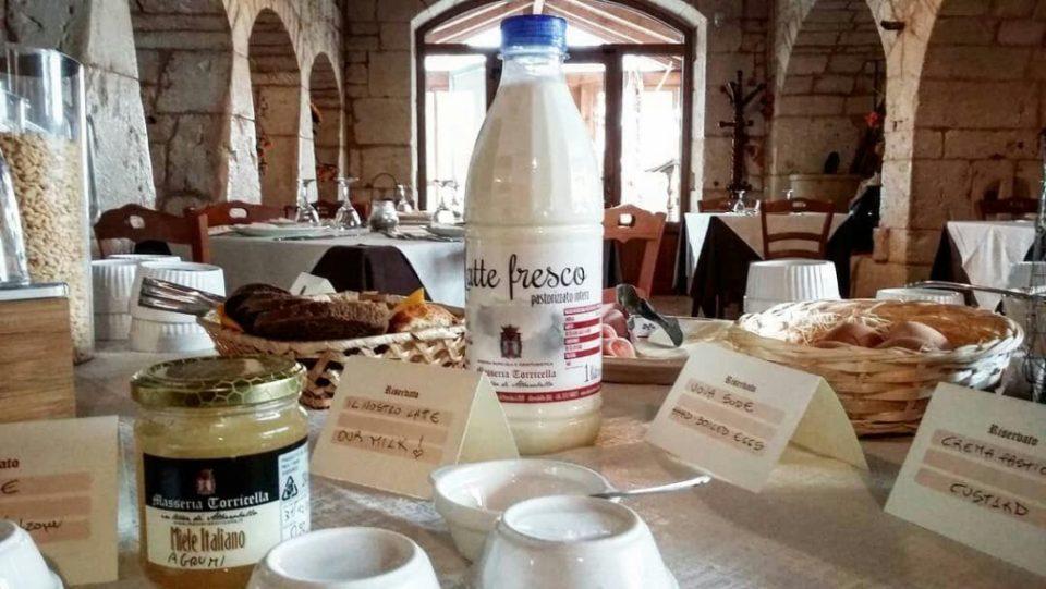 Frühstück Masseria Torricella