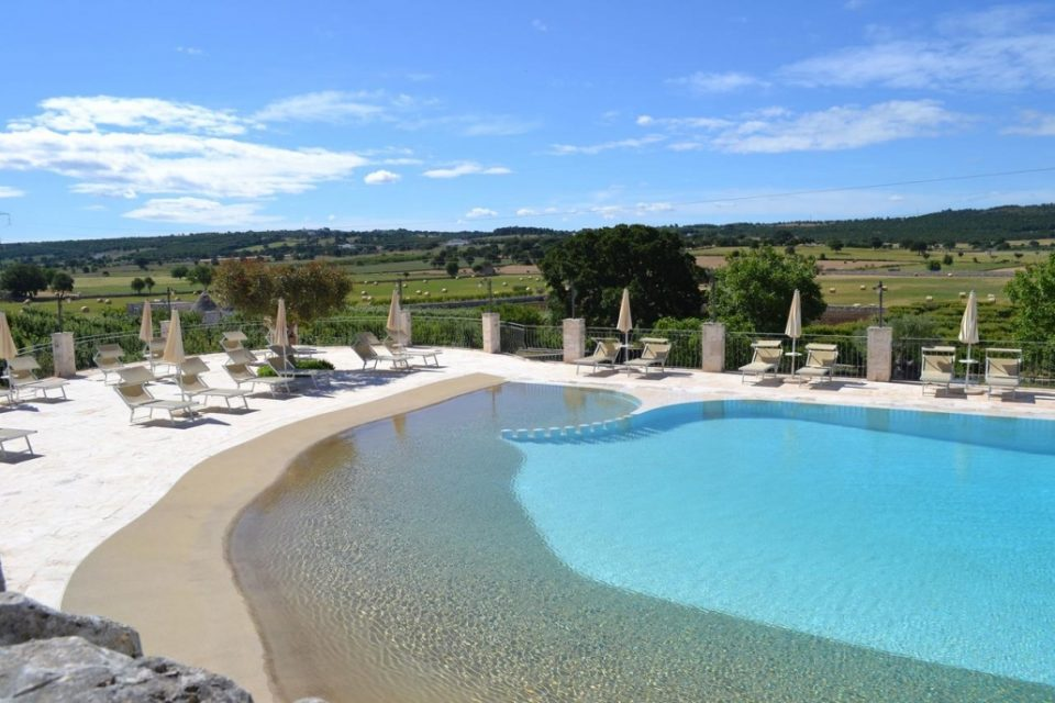 Pool Masseria Torricella